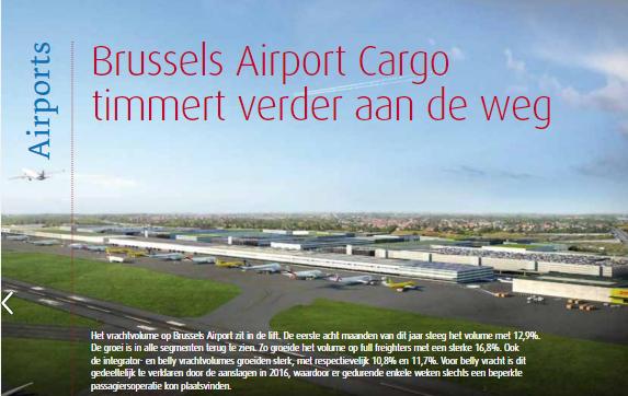 Brussels Airport Cargo timmert verder aan de weg