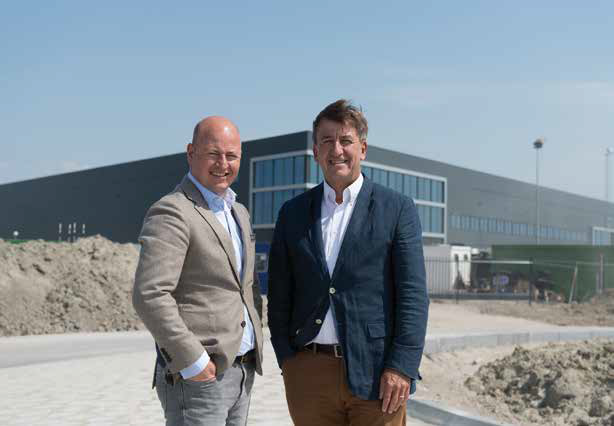 AMS Cargo Center: new distribution center at Schiphol