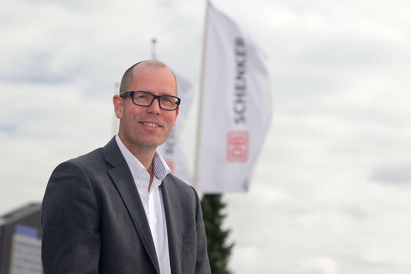 Pierre van Diesen new VP Land Transport at DB Schenker in Benelux