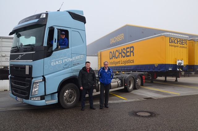 DACHSER tests natural-gas-powered trucks