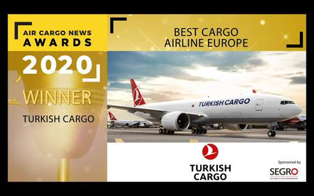 Global Air Cargo Brand Turkish Cargo Chosen as the Best Air Cargo Brand of Europe